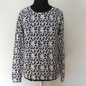 MNG Leopard print sweater